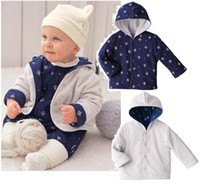 Coat Boy Spring / Autumn Retail Boy's Coat Hoodies Jackets Baby outwear Cardigan Fleece Outfits HOT SALE 1PCS LOT