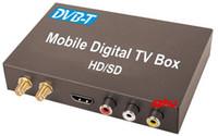 Le plus récent récepteur DVB-T RCA DIGITAL TV (HD / SD), récepteur DVB-T tuner TV HDMI voitures soutien MPEG-1 / -2 / -4, décodeur H.264, livraison gratuite