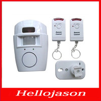 Wholesale 9183 for retail by China post Infrared detectors home alarm infrared sensor alarm dual remote alarm