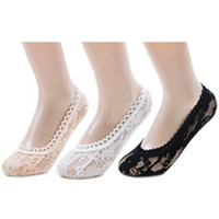 women silk socks - 100 Pairs High Quality Women s Bud Silk Lace Boat Sock Lady Ankle Socks Floor Sox lovely Short Socks Girls Summer Invisible