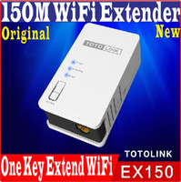 Wholesale One Key Finish Setup English Firmware Totolink EX150 AP Router Mbps WiFi Universal Repeater M WiFi Range Extender WiFi Amplifier