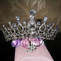 Rhinestone/Crystal atmosphere jewelry - 2016 High end luxury atmosphere crown bridal jewelry headdress wedding jewelry studio act the role ofing is tasted
