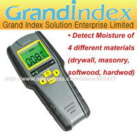 Wholesale SK318 Non Invasive Inductive Moisture Meter Detect of different materials drywall masonry softwood hardwod