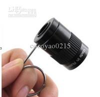 Wholesale 2 X17 Monocular Telescope MINI Thumb Binocle Finger Jackie Chan SPY Hidden Telescopes
