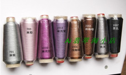 Wholesale Hot sale colors meters per roll Machine colorful Useful Rayon Embroidery Sewing Floss Thread ZBR