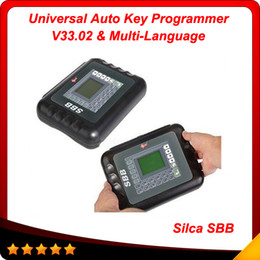 Wholesale 2016 Hot SBB key programmer SBB SBB V33 version Key Programmer key programer car key Multi language