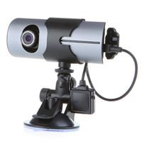 car dvr with gps dash cameras - Dual Lens Front Rear Camera Car DVR Vehicle Dash Dashboard GPS logger Data Recorder quot K487
