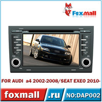 Wholesale For AUDI A4 Car DVD Player with GPS G RDS BluetoothCar DVD