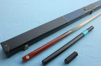 Wholesale Piece Maple Shaft High Quality Handmade Mahogany Snooker Cue quot oz with Cue Case Extension Mini Butt