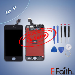 Wholesale LCD Display Touch Screen Digitizer Full Assembly for iPhone C Complete Screen Replacement with tools