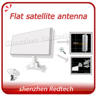 Wholesale Flat Satellite Antenna with certificate Dual Linear Polarization worldwide used newest satellite dish by fedEX IP