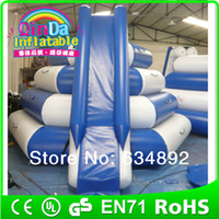 Wholesale water park game sport inflatable water slide play on water