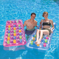 Wholesale Inflatable floating row beach chair viewseaborne chaise lounge water bed mobile phone waterproof bag