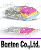 Wholesale LLFA4262 Large Vacuum Storage Bag X100cm Compressed Space Saver Seal Bags Mix colors