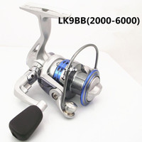 Saltwater Spinning Reel 2000 --- 6000 fishing reel - [ LK2000 - 6000 ] 9 -axis spinning wheel type sea fishing gear