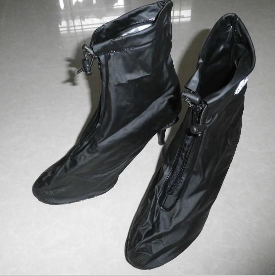 Waterproof Women Lady Recycling Rubber Shoe Covers Overshoes - Buy