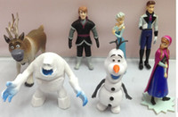 Wholesale - Frozen Figure Play Set 6- 8 inches 7pcs set Anna ...