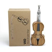 k fire ecig - Vio electronic cigarette starter kit e cigarette violin shape for sale ecig with mah wood wooden battery tube e cig like e fire k fire