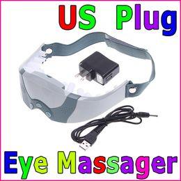 Wholesale US Plug Eye Care Health Electric Alleviate Fatigue Massager Skin Health Care