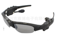 BLUETOOTH MP3 sunglasses, 0 INCH  10pcs lot digital glasses with MP3 Bluetooth function, Walkman headphones sunglasses With AC charger for MP3 Phone call