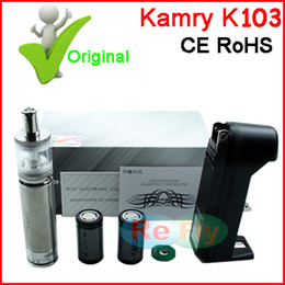 Wholesale Original Kamry k103 kit E cigarette Mechanical Vaporizer k103 Mod Kit ml Atomizer Authentic Kamry Brand Agency Sale refly