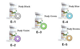 Wholesale NEW Arrived GEO Contact Lenses Mixed Color Geo Color Contact Lenses Crazy Lenses
