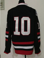 2014 New 10 Patrick Sharp Black Stadium Series Jersey Jersey...
