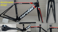 Wholesale 700C High Stiffness Cervelo S3 Bicycle carbon fiber Frame set CM S3 Road Racing carbon Frame Two Years Time Warranty