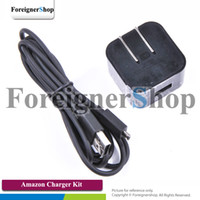 kindle charger - For Amazon Kindle Fire HD HDX USB PowerFast Travel Wall Home AC Adapter US Plug Charger A02710FL Micro USB Data Cable