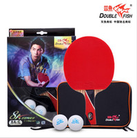 Professional double fish table tennis - original double fish finished product Table Tennis Rackets STARS