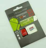 Memory Card card memory card - 64GB GB GB Android Robot DHL high speed Class GB GB GB C10 Micro SD TF Memory Card with Adapter Retail Package