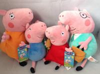 Wholesale Peppa Pig Plush Toy Doll Pepe George peppa pig mom and dad one family dandys