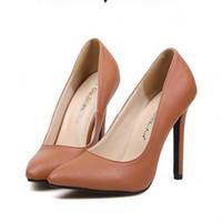 Cheap Women women DRESS shoes Best Pumps Spring and Fall lady HIGH HEEL