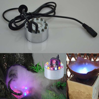 Wholesale New LED Ultrasonic Mist Maker Fogger Humidifier Water Pond Fountain