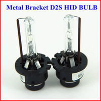 Wholesale 20pairs metal bracket waterproof W K K K D2S xenon HID bulb
