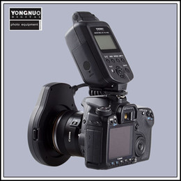 Wholesale Yongnuo YN EX TTL Macro Ring Lite Flash Light for Canon with Adapter Rings