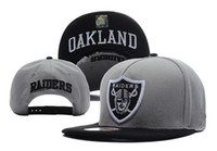 Wholesale 2014 New design Raiders grey Snapback Snapbacks Hats Adjustable Caps hip hop hat cap