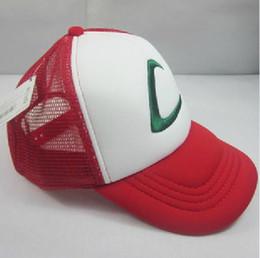 Wholesale POKEMON Pokemon Pokemon Pokemon Ash hat baseball cap mesh cap spot dandys