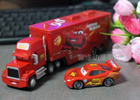 Wholesale Cars toy car McQueen Pixar Cars2 alloy car truck trailers Uncle Jimmy dandys