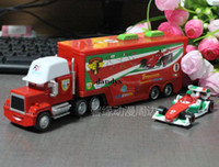 Wholesale Cars Pixar Cars toy car Uncle Jimmy Frans high complex car trailer truck dandys