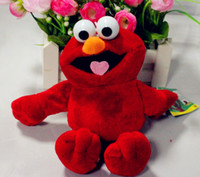 Unisex sesame street - Foreign trade of the original single SESAME STREET ELMO Sesame Street Elmo doll plush doll dandys