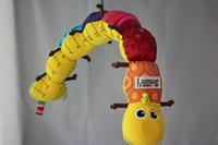 Unisex caterpillars - lamaze Lamaze educational toys baby music BB device ring paper caterpillar rattle baby toys dandys