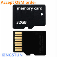 TF / Micro SD Card 32gb card - High speed GB TF cards memory card micro sd card with SD adapter and retail packaging The factory FREE DHL08612