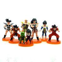 base ball games - Dragon Ball on behalf of the seven base eight Wukong etc Figures dandys