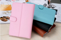 Wholesale High Quality Universal inch inch inch inch PU Leather Case Skin Stand Cover For Android Tablet PC MID