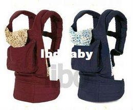 Wholesale Canguru bolsa para bebe Carregador De Bebe Canguru Suporte Para Bebe mochila respiravel novo elegante