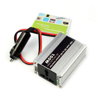 USB DC 12V AC 220V±10% 2014 New arrival Hot sale Car DC 12V to AC 220V 100W Power Inverter Adapter With USB All Plug FreeShipping & Wholesales
