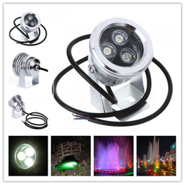 12V DC 3W Green LED Fountain Pond Lamp Waterproof IP68 for Outdoor Underwater Landscape Lighting