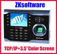 Wholesale ZKSoftware iclock Biometric Fingerprint Attendance Time Clock WIFI TCP IP