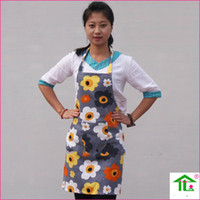 Wholesale Fashion colourful Working Aprons Kitchen aprons low price